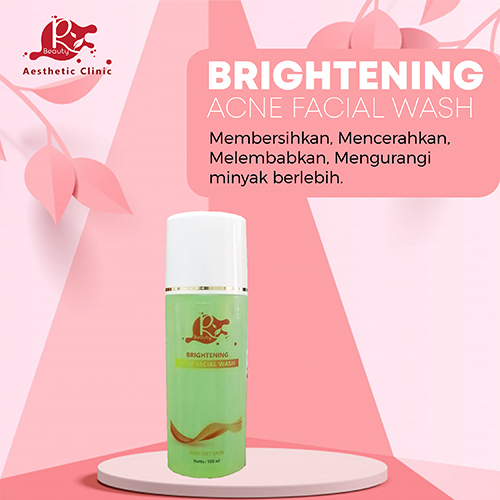 Brightening Acne Facial Wash
